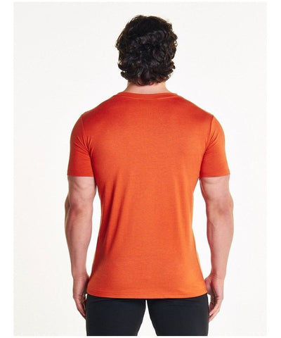 Pursue Fitness Classic T-Shirt Orange-Pursue Fitness-Gym Wear