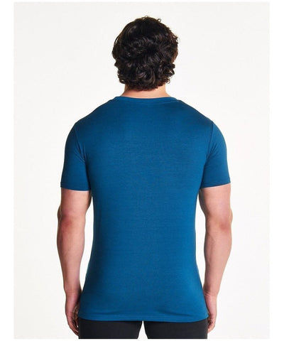 Pursue Fitness Classic T-Shirt Teal-Pursue Fitness-Gym Wear