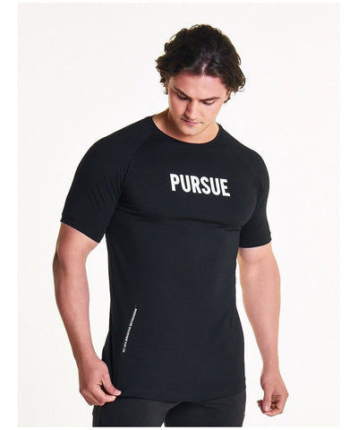 Pursue Fitness Est.2013 T-Shirt Black-Pursue Fitness-Gym Wear
