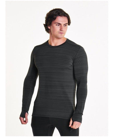Pursue Fitness Zephyr Longsleeve T-Shirt Grey-Pursue Fitness-Gym Wear