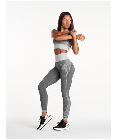 Pursue Fitness ADAPT Seamless Leggings Grey-Pursue Fitness-Gym Wear