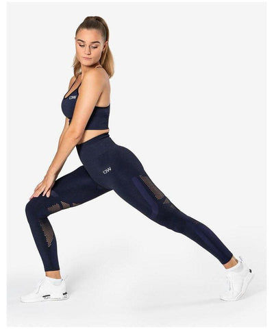 ICIW Seamless High Waisted Leggings Navy