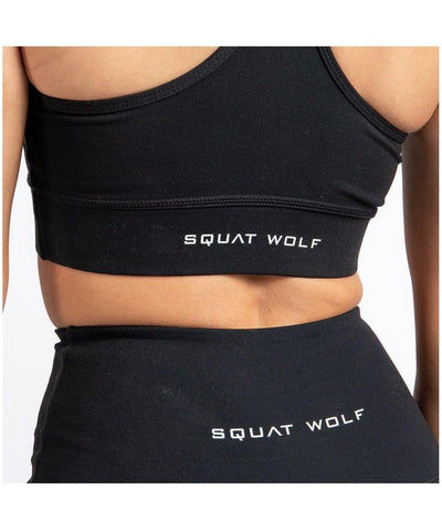 Squat Wolf Hera High Wasited Leggings Black-Squat Wolf-Gym Wear