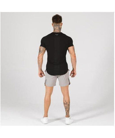 Squat Wolf Statement T-Shirt Black-Squat Wolf-Gym Wear