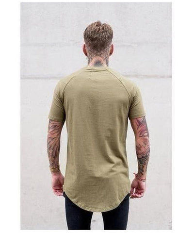 Sinners Attire Core T-Shirt Khaki-Sinners Attire-Gym Wear