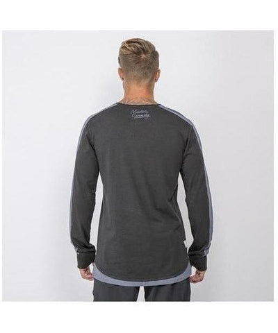 Masters Of Ceremony Devers Long Sleeve T-Shirt Black-Masters Of Ceremony-Gym Wear