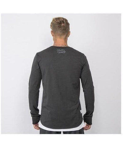 Masters Of Ceremony Fraser Long Sleeve T-Shirt Black-Masters Of Ceremony-Gym Wear