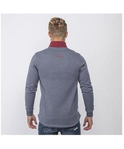 Masters Of Ceremony Houston Sweater Wine-Masters Of Ceremony-Gym Wear