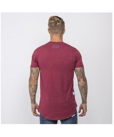 Masters Of Ceremony Louis T-Shirt Wine-Masters Of Ceremony-Gym Wear