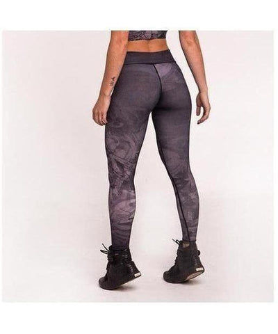 Graffiti Beasts Mr. Wany Fitness Leggings-Graffiti Beasts-Gym Wear