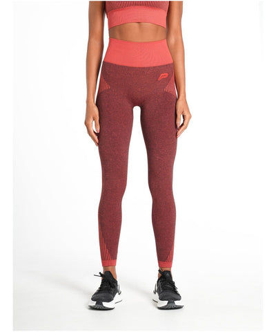 Pursue Fitness ADAPT Seamless Leggings Red-Pursue Fitness-Gym Wear