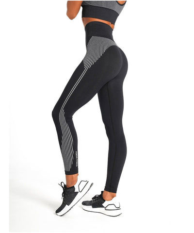 Pursue Fitness ADAPT Seamless Leggings Black-Pursue Fitness-Gym Wear