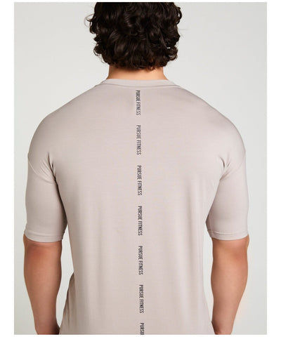 Pursue Fitness Ultra Lifestyle T-Shirt Grey-Pursue Fitness-Gym Wear