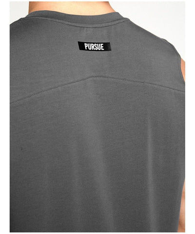 Pursue Fitness Est.2013 Tank Grey-Pursue Fitness-Gym Wear