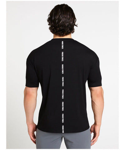 Pursue Fitness Ultra Lifestyle T-Shirt Black-Pursue Fitness-Gym Wear