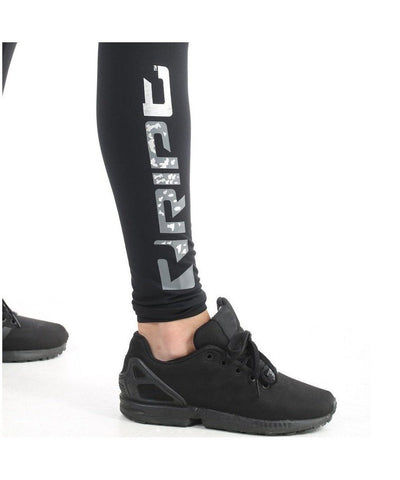 RIPT Performance High Waisted Leggings Black-RIPT-Gym Wear