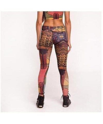 Graffiti Beasts SKI Fitness Leggings-Graffiti Beasts-Gym Wear
