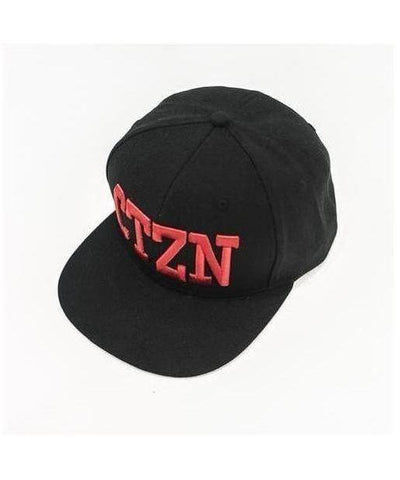 Citizen Zeus Snapback Cap Black/Red-Citizen Zeus-Gym Wear