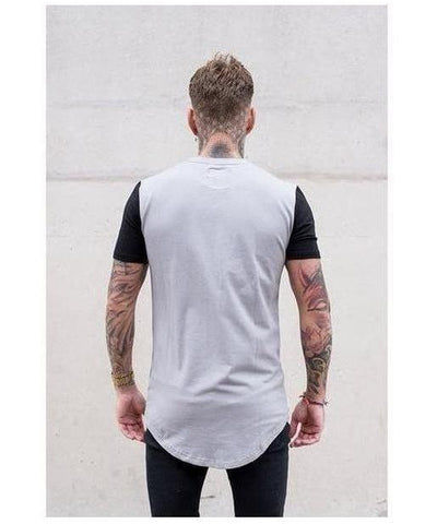 Sinners Attire Muscle T-Shirt Slate/Black-Sinners Attire-Gym Wear