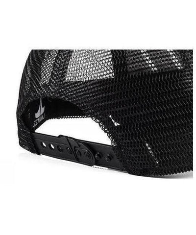 Twinzz 3D Mesh Trucker Cap Black/White-Twinzz-Gym Wear