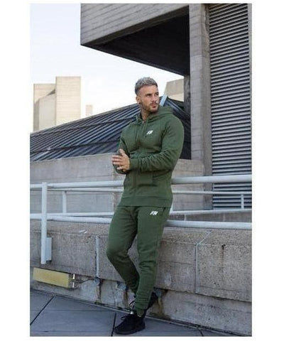 Aspire Wear Luxe Hoodie Khaki-Aspire Wear-Gym Wear