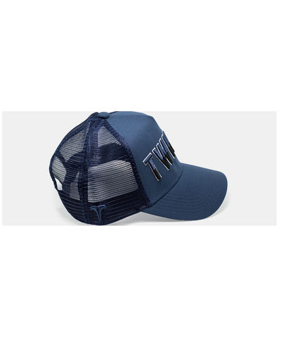 Twinzz Liquid Trucker Cap Blue-Twinzz-Gym Wear