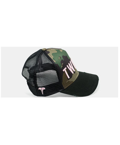 Twinzz Liquid Trucker Cap Camo-Twinzz-Gym Wear