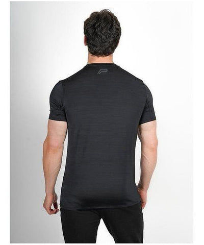 Pursue Fitness Zephyr T-Shirt Black-Pursue Fitness-Gym Wear