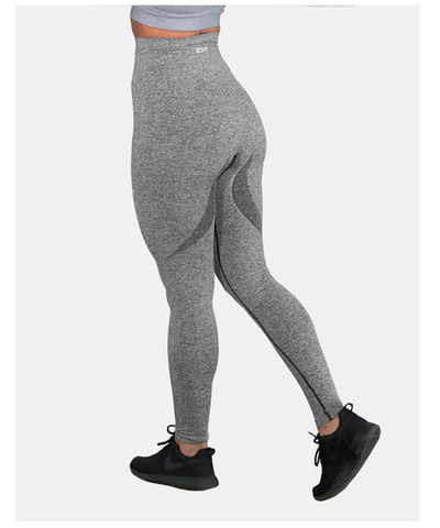 Womens Echt Arise High Waisted Leggings Charcoal-Echt-Gym Wear
