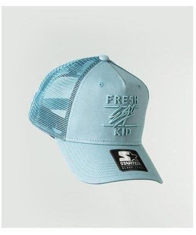 Fresh Ego Kid Mesh Trucker Cap Baby Blue-Fresh Ego Kid-Gym Wear