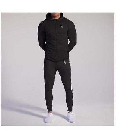 GymJam Fine Fit Joggers Black-GymJam-Gym Wear