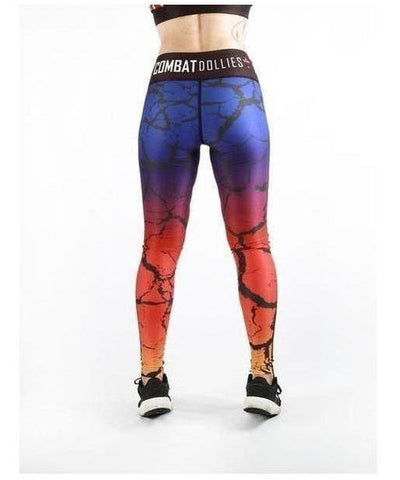 Combat Dollies Break of Dawn Fitness Leggings-Combat Dollies-Gym Wear