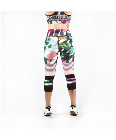 Combat Dollies Botanic Capri Fitness Leggings