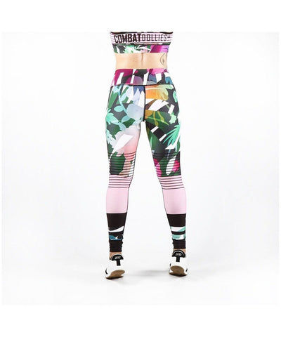 Combat Dollies Botanic Fitness Leggings-Combat Dollies-Gym Wear