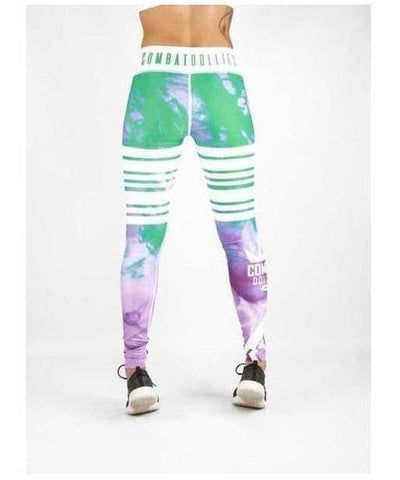 Combat Dollies Smoking Candy Fitness Leggings-Combat Dollies-Gym Wear