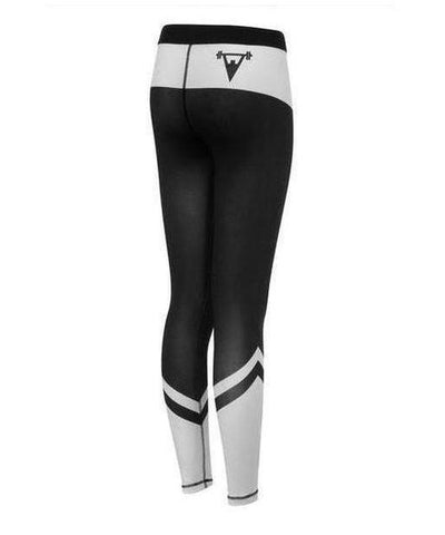 Cut Above Performance Womens Leggings White-Cut Above-Gym Wear