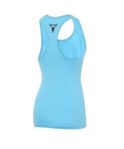 Cut Above 'Lifted' Womens Vest Teal-Cut Above-Gym Wear