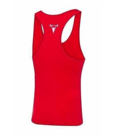 Cut Above 'Icon' Vest Red-Cut Above-Gym Wear