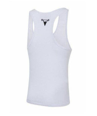 Cut Above 'Icon' Vest White-Cut Above-Gym Wear