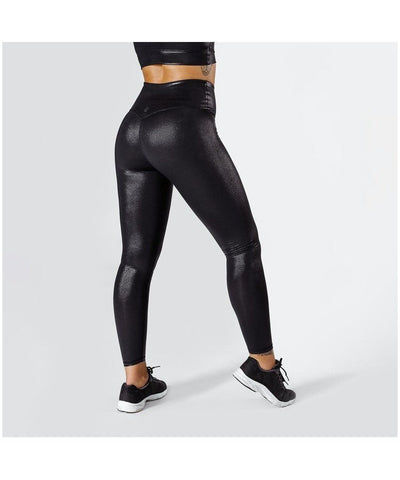 Workout Empire Shimmer Leggings Black