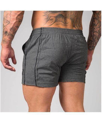 Muscle Nation Signature Squat Shorts Grey-Muscle Nation-Gym Wear