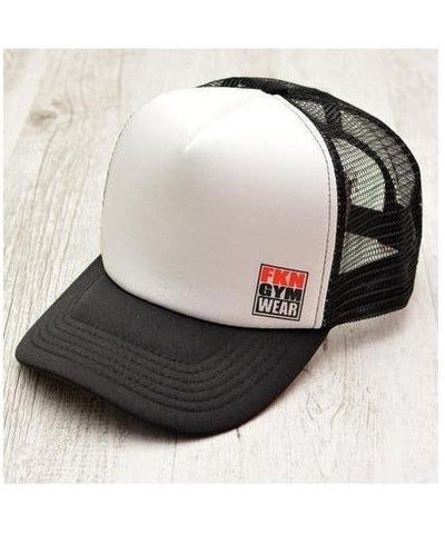 FKN Trucker Cap White-FKN Gym Wear-Gym Wear