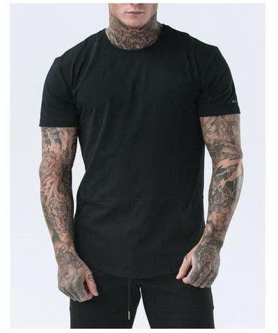 Echt Force Dry T-Shirt Stealth Black-Echt-Gym Wear