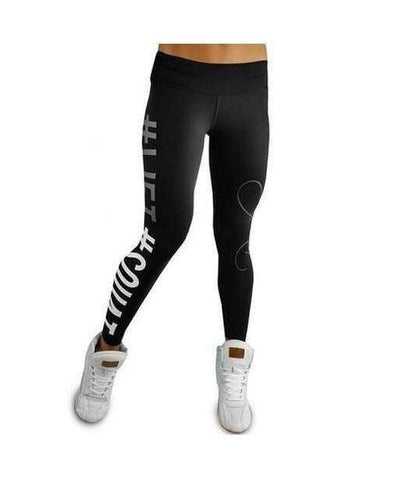 RyderWear Womens #LIFT Squat Leggings Black-RyderWear-Gym Wear