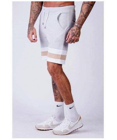 304 Clothing Grey Short-304 Clothing-Gym Wear