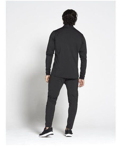 Pursue Fitness Lightweight Tapered Jacket Black-Pursue Fitness-Gym Wear