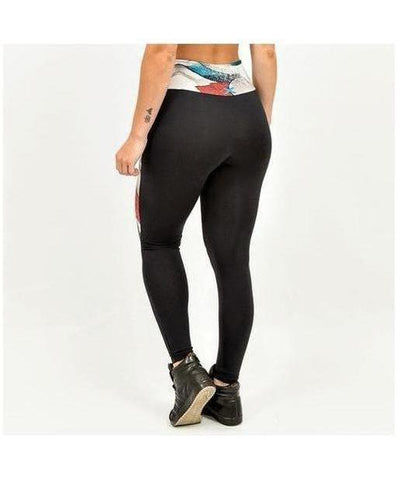 Graffiti Beasts Inverse Mr. DHEO Fitness Leggings-Graffiti Beasts-Gym Wear