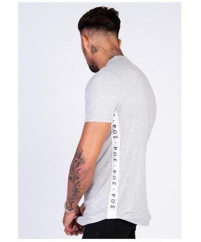 304 Clothing Essential T-Shirt Grey-304 Clothing-Gym Wear