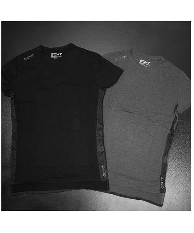 Echt Hybrid T-Shirt Black-Echt-Gym Wear