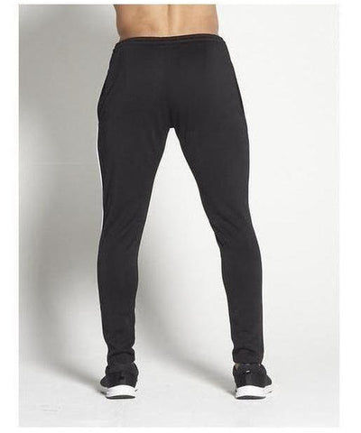Pursue Fitness BreathEasy Piping Joggers Black-Pursue Fitness-Gym Wear